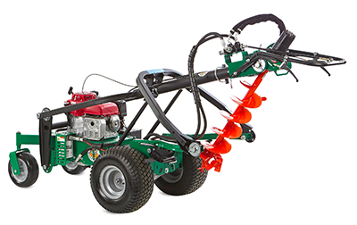 Introducing the Billy Goat® Hydro-Drive Self-Propelled Auger | Billy Goat Newsroom