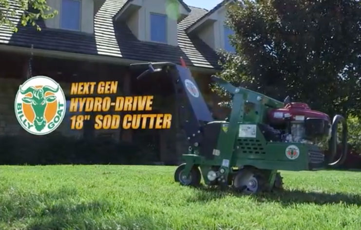 "Next Gen 18"" Hydro-Drive Sod Cutter 